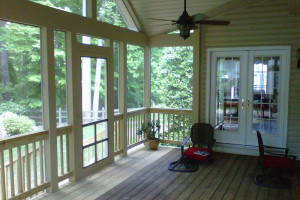 The Ronan Residence - Screened Porch
