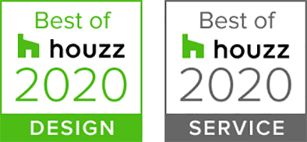 Best of Houzz 2020 Design and Service logos